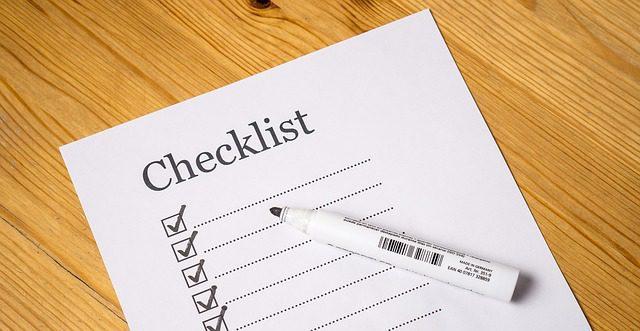 Checklista