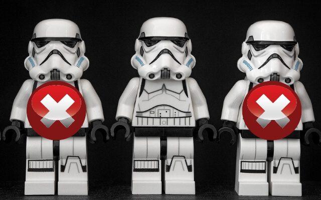 Żołnierze z Gwiezdnych Wojen - usuń duplikaty