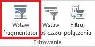 Dashboard - wstaw fragmentator