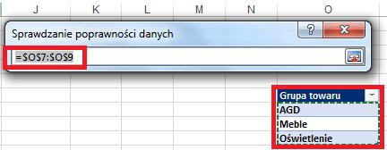 Dynamiczna lista rozwijana